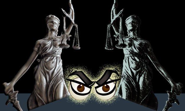 A justiça frente a frente com a justiça