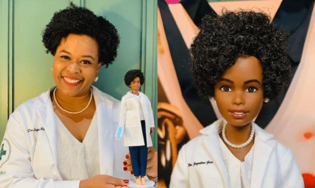Cientista brasileira Jaqueline Góes ganha versão da Barbie junto com outras cinco mulheres