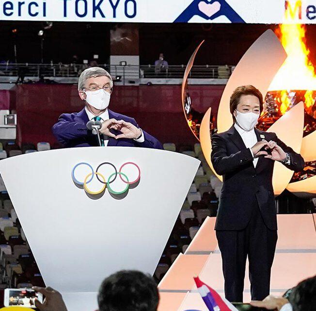 Discurso do Presidente do COI – Cerimônia de Encerramento Tóquio 2020