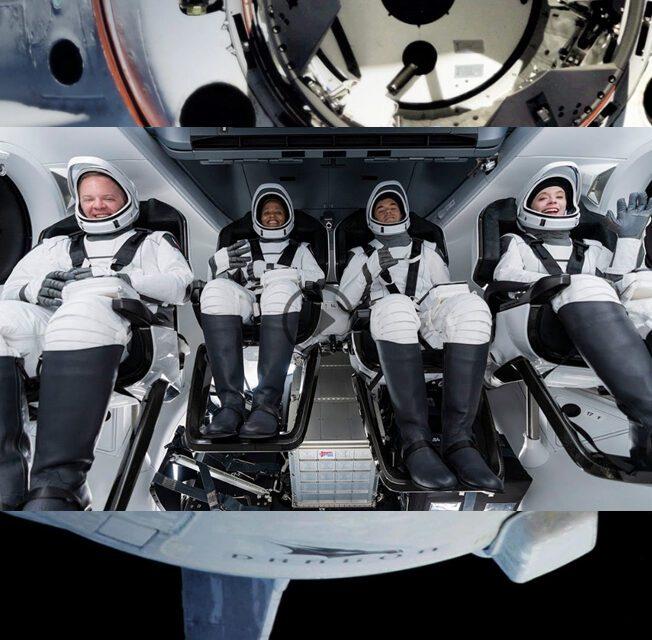 Spaceturistas da espaçonave Dragon retornam à Terra em segurança
